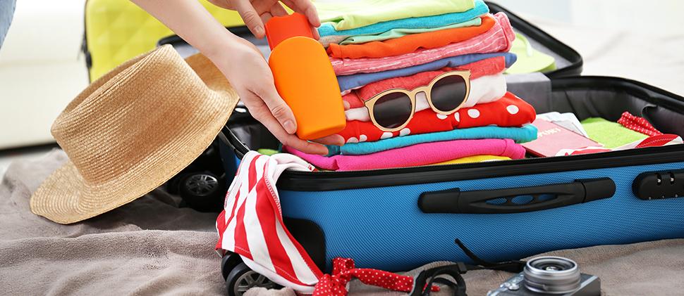7 productos que debes llevar a tus vacaciones