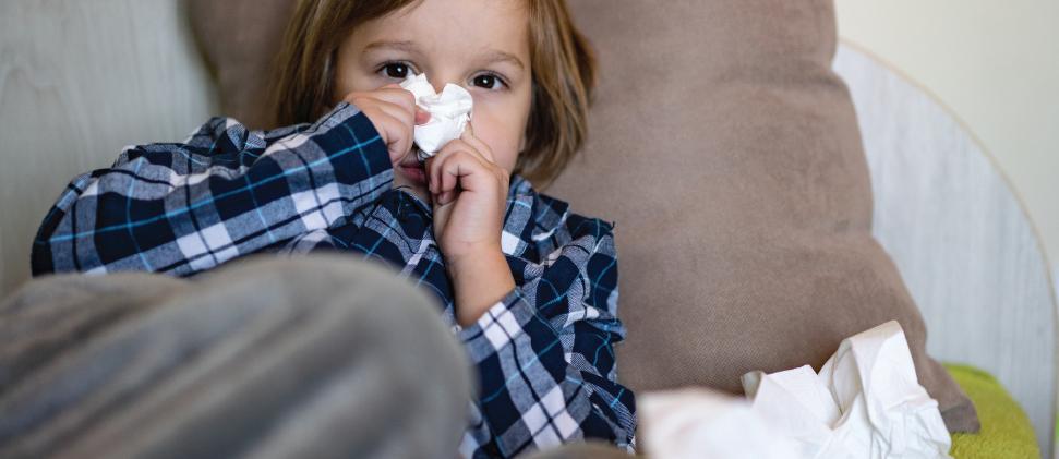 ¿Cómo saber si un niño tiene una enfermedad respiratoria?